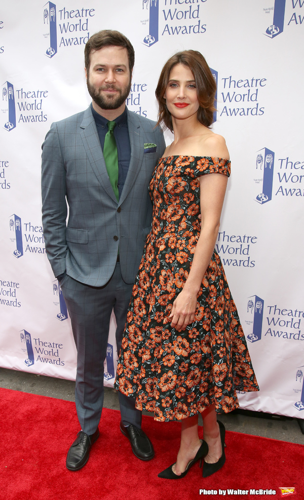Taran Killam and Cobie Smulders Photo