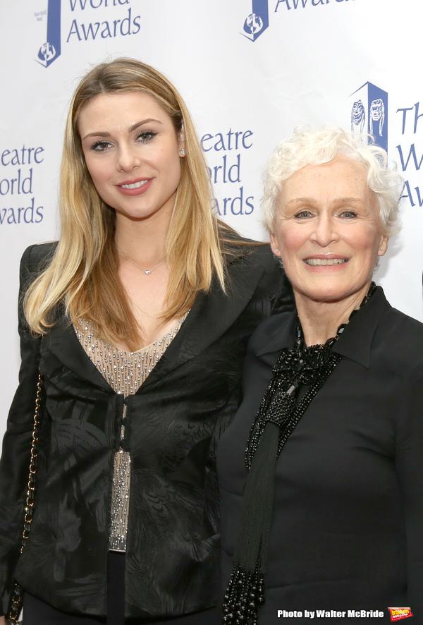Annie Starke and Glenn Close