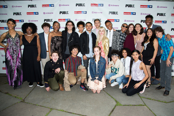 Photo Coverage: Public Theater Lets the Sun Shine In at HAIR TO HAMILTON Gala!