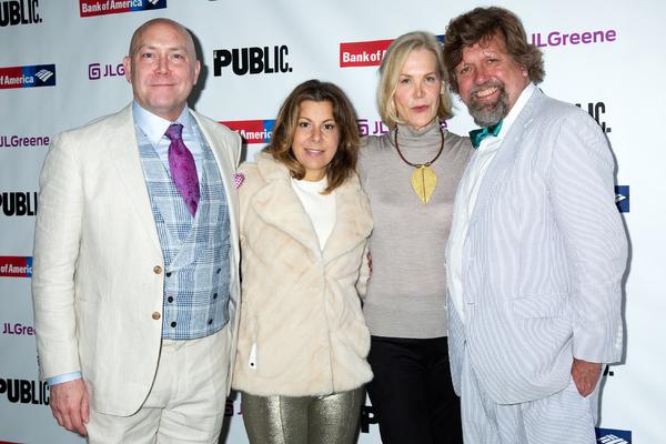 Patrick Willingham, Arielle Tepper Madover, Christina McInerney, Oskar Eustis Photo