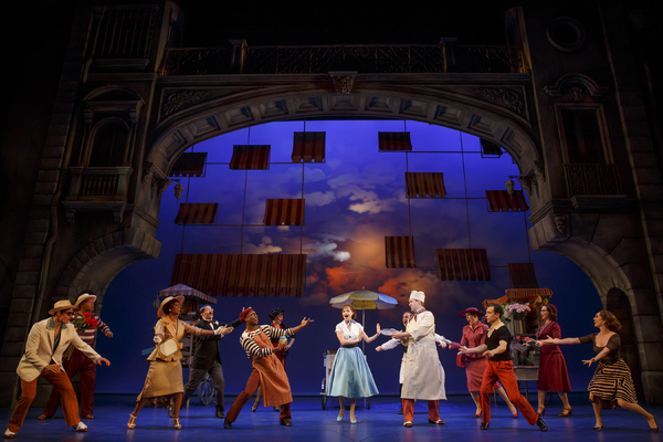 Photo Flash: First Look at the Broadway-Bound ROMAN HOLIDAY!