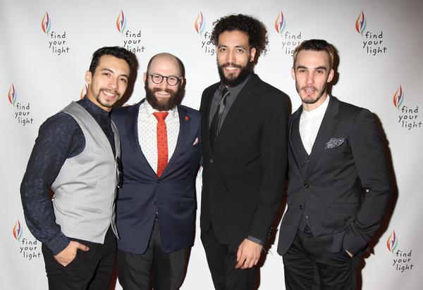 Andrew Mayer, Nick Gaswirth, Heath Saunders and Reed Luplau Photo