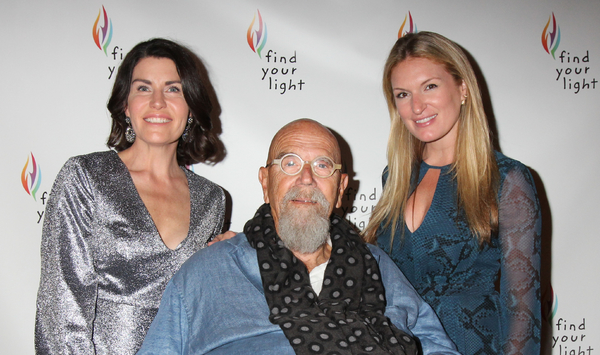 Diana Dimenna, Chuck Close and Sarah Arison Photo