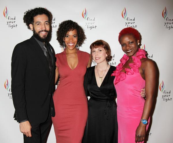 Heath Saunders, Erica Dorfler, Brittain Ashford and Lulu Fall Photo