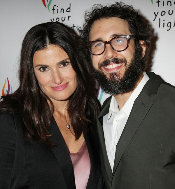 Idina Menzel and Josh Groban