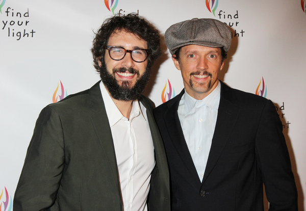 Josh Groban and Jason Mraz