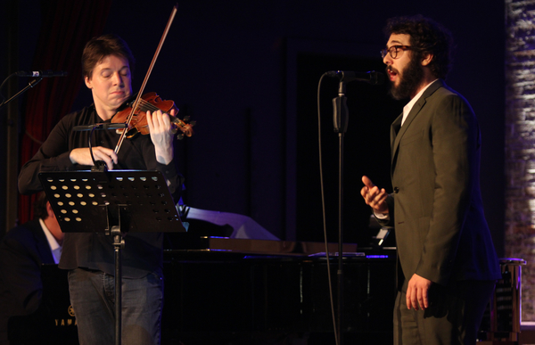 Joshua Bell and Josh Groban  Photo