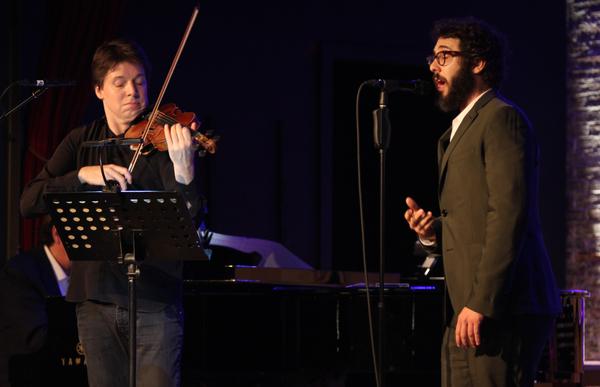 Joshua Bell and Josh Groban