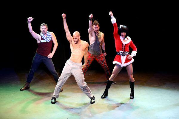 Broadway Bares Fire Island  Jersey Boys Cast