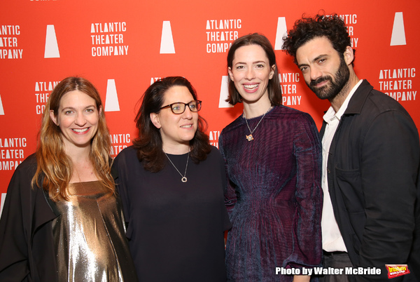 Clare Lizzimore, Gayle Taylor Upchurch, Rebecca Hall and Morgan Spector  Photo