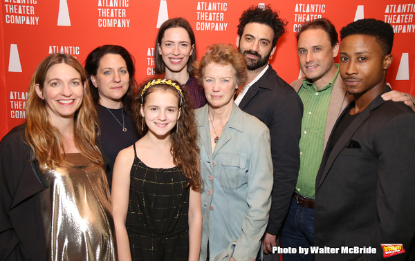 Clare Lizzimore, Gaye Taylor Upchurch, Fina Strazza, Rebecca Hall, Kristin Griffith, Morgan Spector, Greg Keller and David Pegram