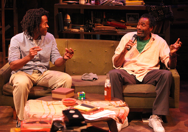 Rafael Jordan and Carl Lumbly