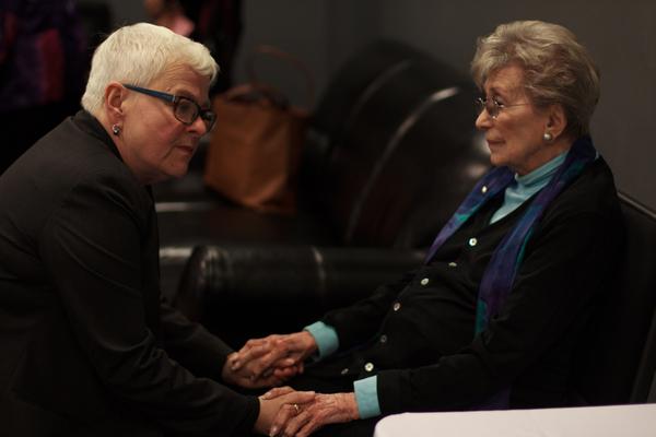 Betty Corwin and Paula Vogel Photo