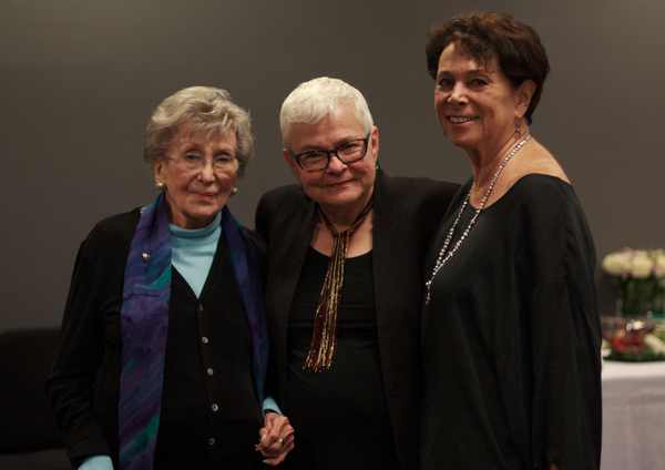Betty Corwin, Paula Vogel and Linda Winer