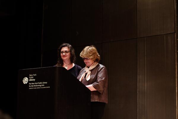 Lisa Rothe and Carmel Owen