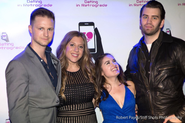 Photo Flash: DATING IN RETROGRADE Web Series Celebrates Launch at The West End Lounge