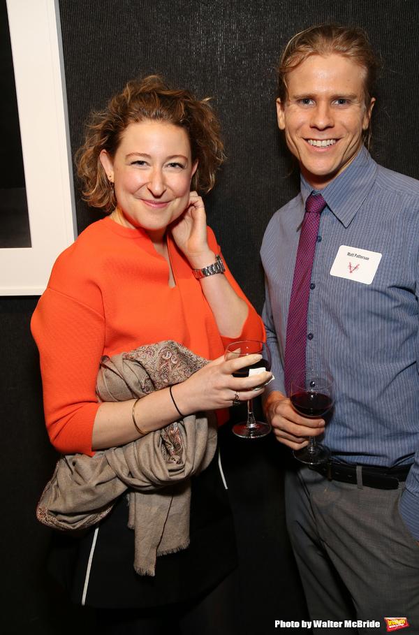 Sophie von Hasselberg and Matt Patterson  Photo
