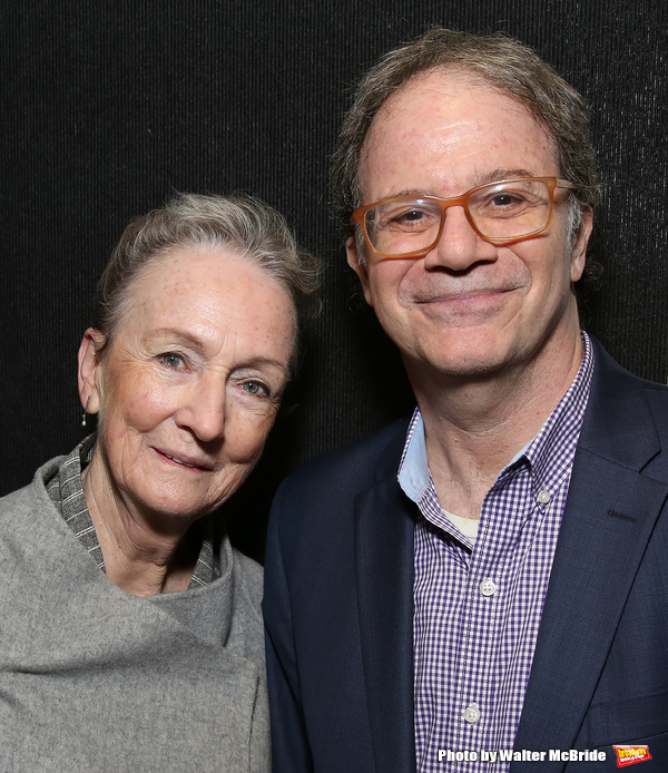 Kathleen Chalfant and Douglas Aibel
