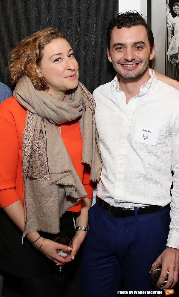Sophie von Haselberg and Dustin Wills