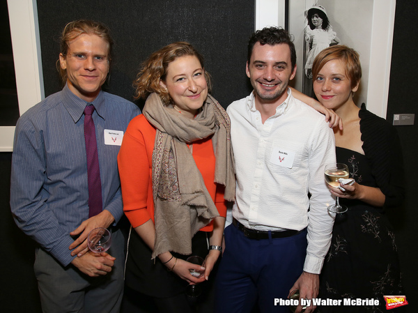 Matt Patterson, Sophie von Haselberg, Dustin Wills and Kate Tarker