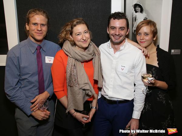 Matt Patterson, Sophie von Haselberg, Dustin Wills and Kate Tarker