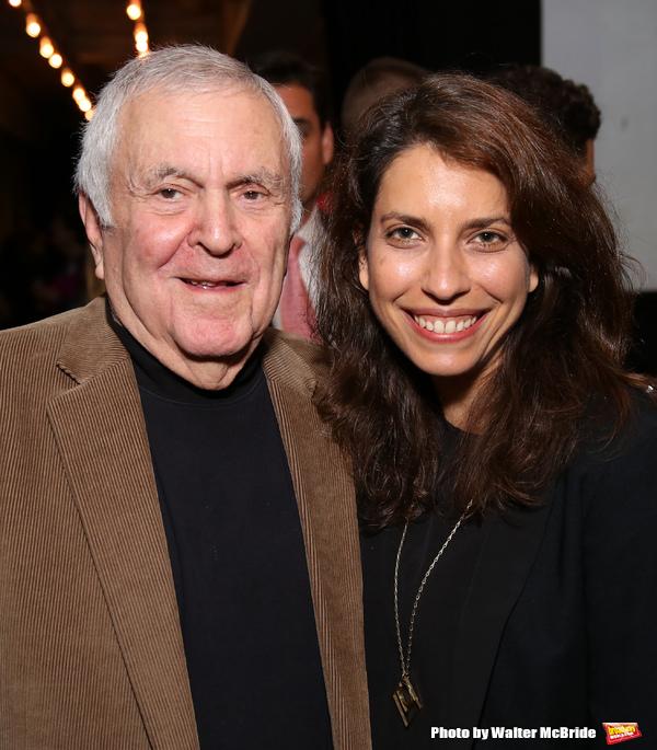 John Kander and Sarah Stern