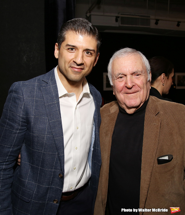 Tony Yazbeck and John Kander