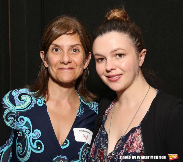 Gina Gionfriddo and Amber Tamblyn  Photo