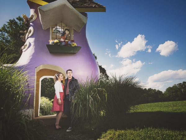 Lila Cooper and Mark Quackenbush Photo