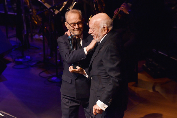 Joel Grey and Hal Prince