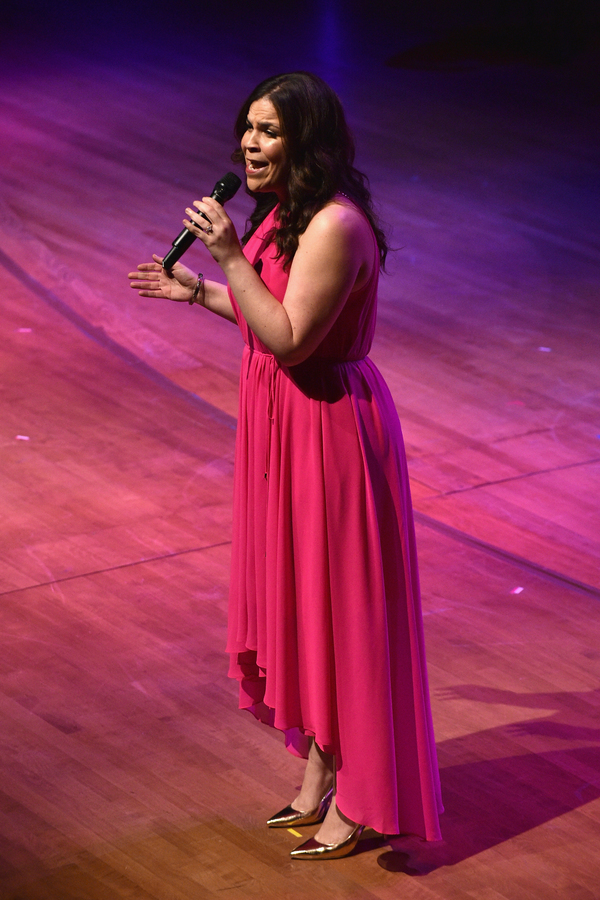 Lindsay Mendez performs onstage at Lincoln Center Hall Of Fame Gala at the Alice Tully Hall o