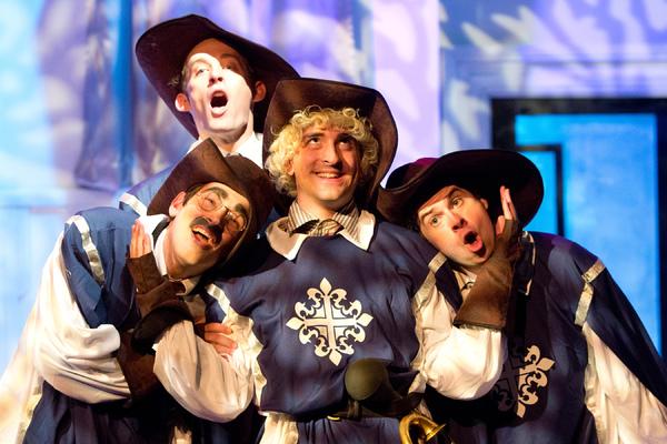 Jeffrey Todd Parrott*, Adam Scharf, Chris Metz*, and Adam Reilly (in the back)  Photo