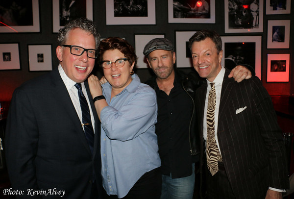 Billy Stritch, Klea Blackhurst, Gene Reed, and Jim Caruso