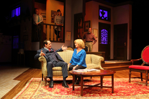 Photo Flash: First Look at Jim Stanek, Eve Plumb and More in FAMILY TIES at The Human Race Theatre Company