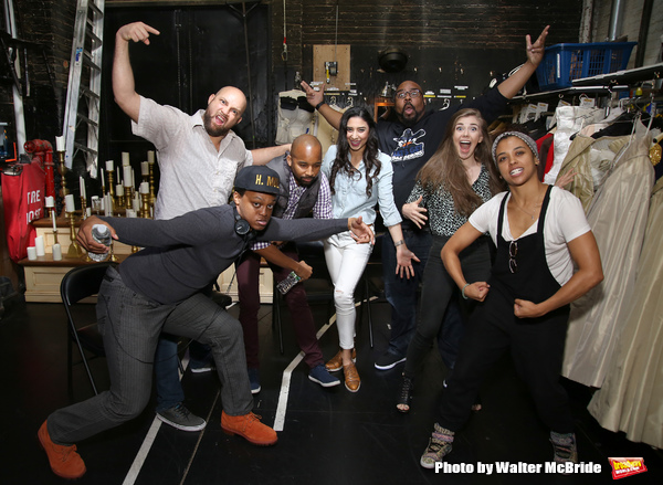 J. Quinton Johnson, Gregory Treco, Antuan Magic Raimone, Lauren Boyd, James Monroe Iglehart, Eliza Ohman and Sasha Hollinger