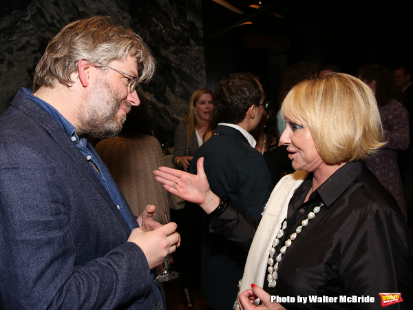 Photo Coverage: Inside the Dramatists Guild Fund Salon with Dave Malloy!