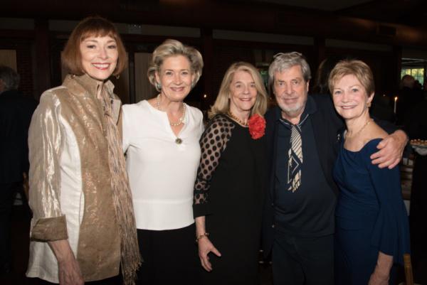 Karen Akers, April Gow, Frances Hill, Tony Walton, Lynn San Andres Photo