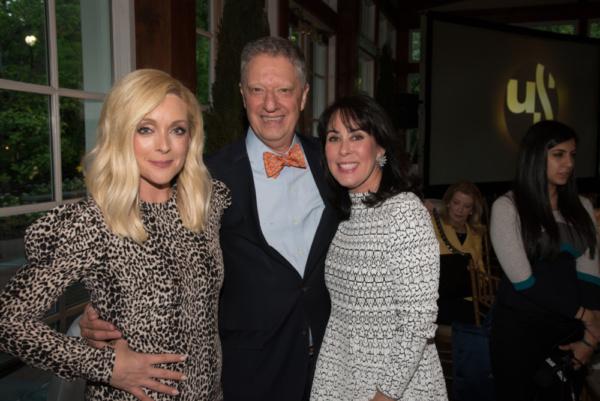 Jane Krakowski, Stanley Zareff and Catherine Adler Photo