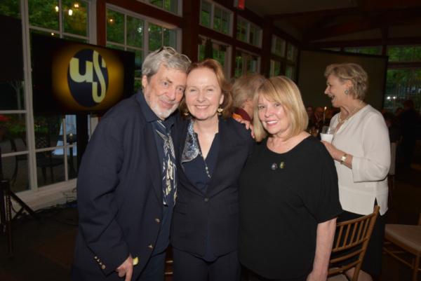 Tony Walton, Kate Burton, Gen LeRoy-Walton Photo