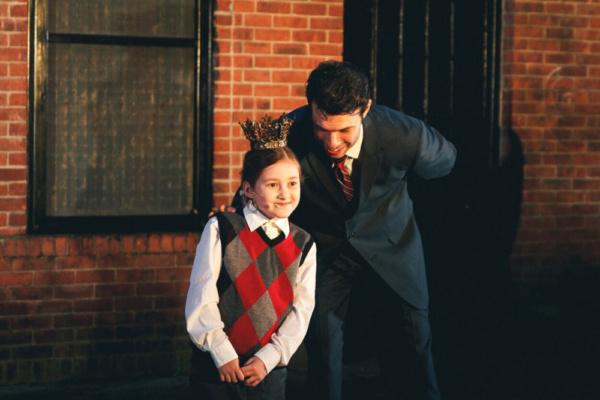 Chloe Ross and Michael Hanson.