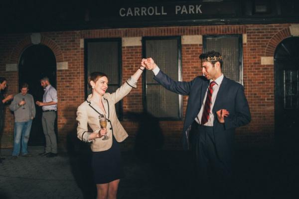 Katie Willmorth and Michael Hanson.