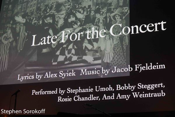 Photo Coverage: Tony Award Winner William Finn's Students Create Future Broadway Winning Songs