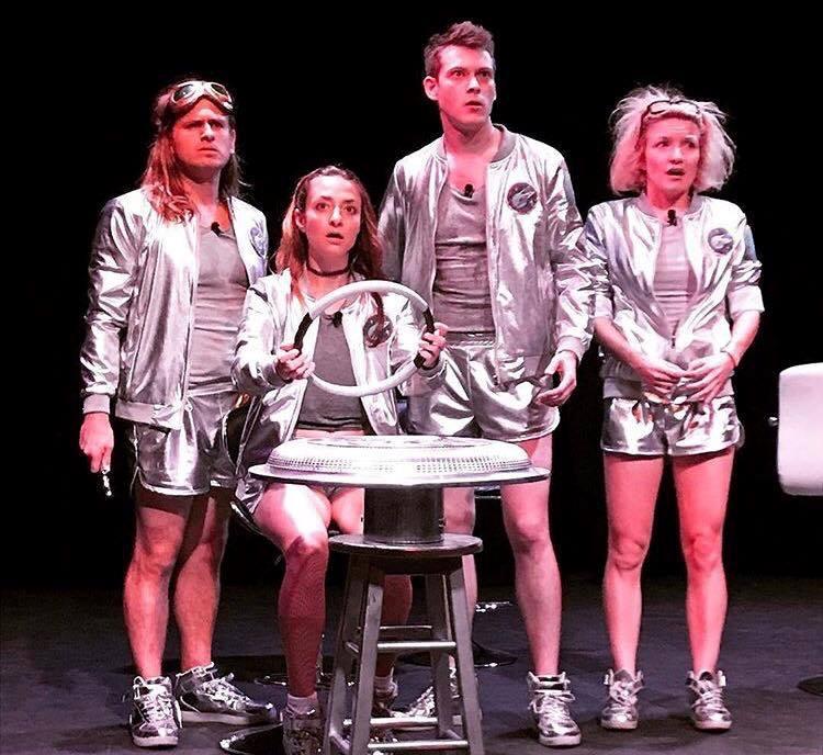 BWW Review: Robot Teammate's New Musical TURBULENCE! covers Fun-Loving Comic Territory