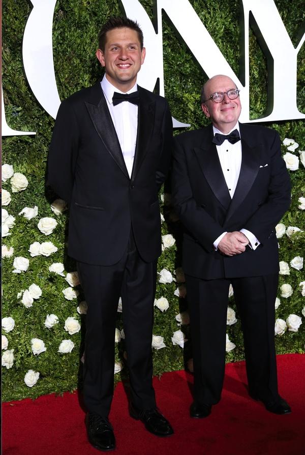 Bill Elliott and Greg Anthony Rassen