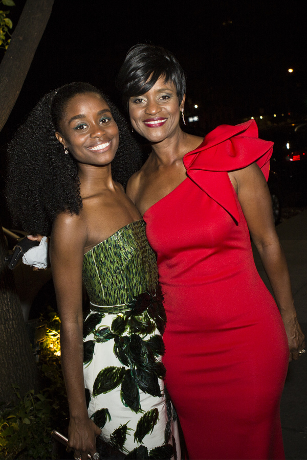 Denee Benton and her Mother at