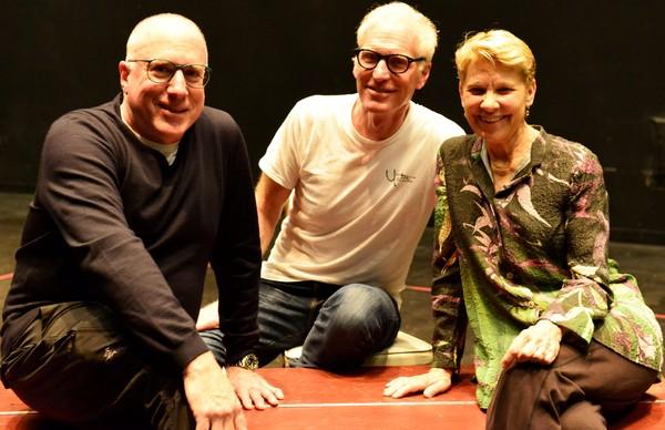 Sam Weisman, Brad Hall and Lindsay Crouse Photo