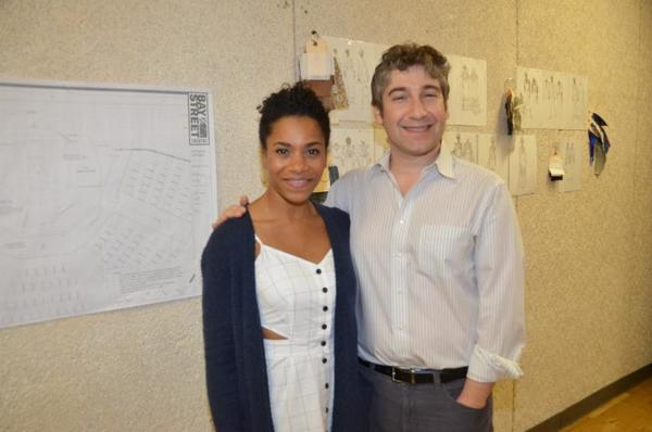 Kelly McCreary and Scott Schwartz