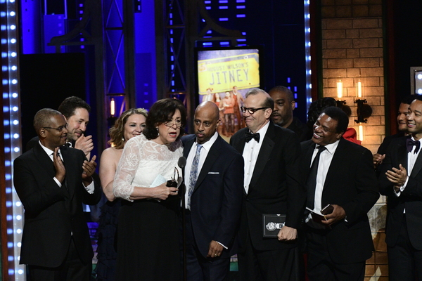 Winners of Best Revival of a Play for August Wilson's Jitney