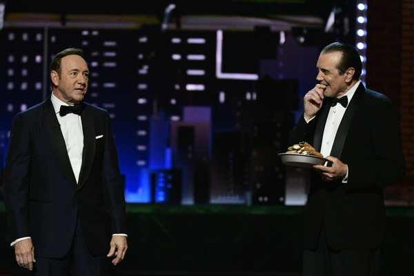 Kevin Spacey and Chazz Palminteri