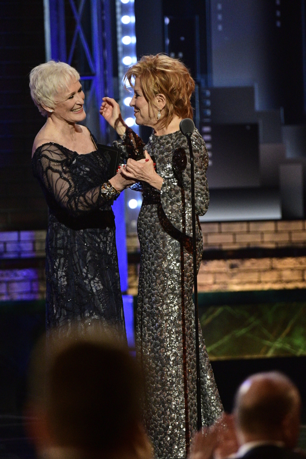 Glenn Close, Bette Midler